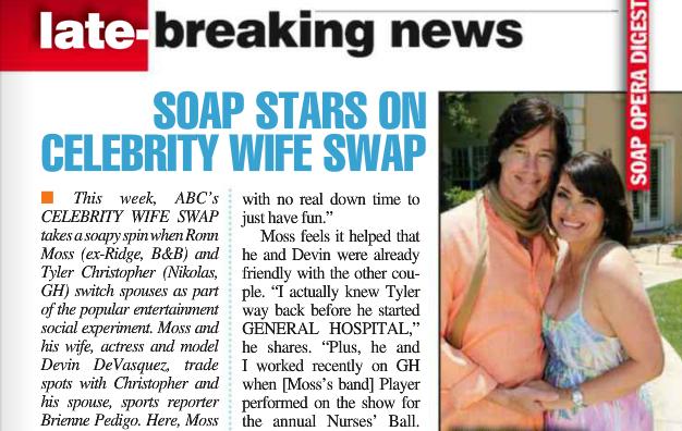 Soap Opera Digest July 2014